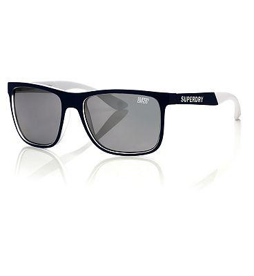 Superdry Sunglasses Runner - Navy and White Frame
