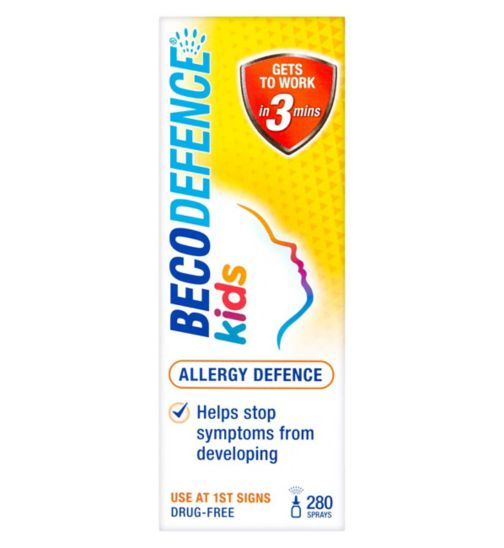Becodefence Kids Allergy Defence 280 Sprays