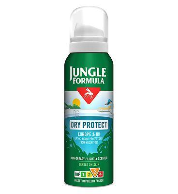 Jungle Formula Dry Protect Aerosol 125ml