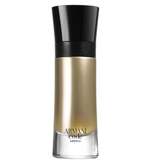 4cb8804cc0 Armani Code Absolu Mens Eau de Parfum 60ml