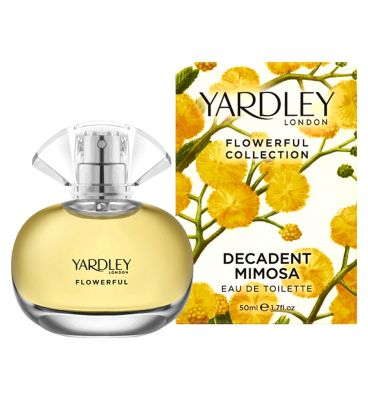 Yardley London Decadent Mimosa Eau de Toilette 50ml