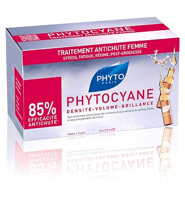PHYTOCYANE Hair Loss Treatment Vial Woman 7.5ml