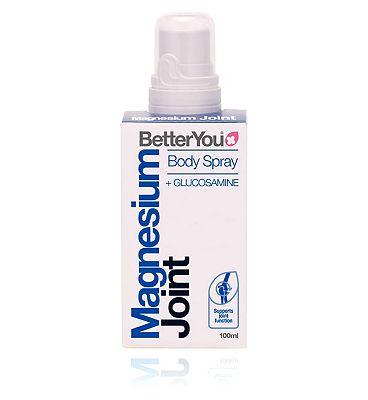 BetterYou Magensium Joint Body Spray + Glucosamine - 100ml
