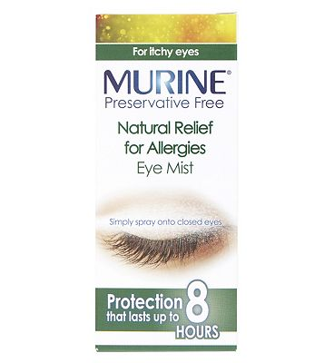 Murine Preservative Free Natural Relief for Allergies Eye Mist - 15ml