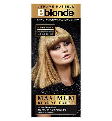 Jerome Russell Maximum Blonde Toner Golden Blonde 75ml