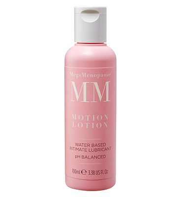 MegsMenopause Motion Lotion Water Based Intimate Lubricant - 100ml