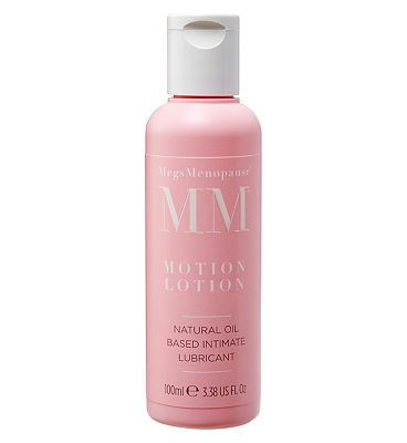 MegsMenopause Motion Lotion Natural Oil Based Intimate Lubricant - 100ml