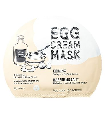 Too Cool For School Egg Cream Mask Firming Set 5x masks