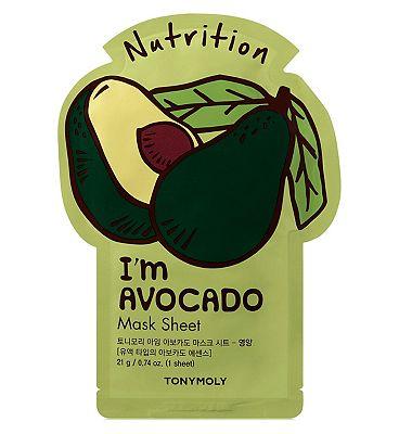 Tonymoly I'm Avocado Sheet Mask 21ml
