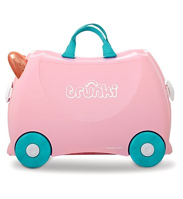Trunki Flossi the Flamingo Ride on Suitcase