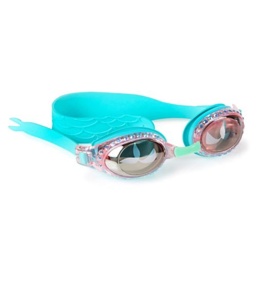 f4ed6ecbde38 Bling2o Mermaid swimming goggles Blue Sushi