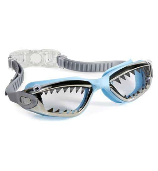 Bling2o Jawsome Swimming Goggle Baby Blue Tip Shark
