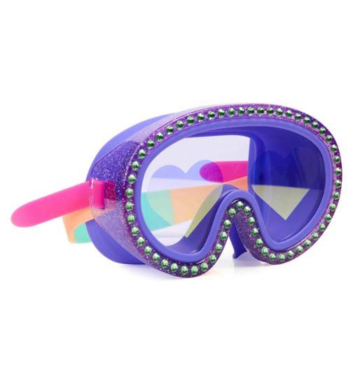 Bling2o Rock Star Heart Swim Mask I Love Raspberries