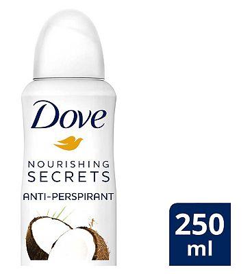 Dove Antiperspirant Aerosol Coconut & Jasmine Flower 250ml