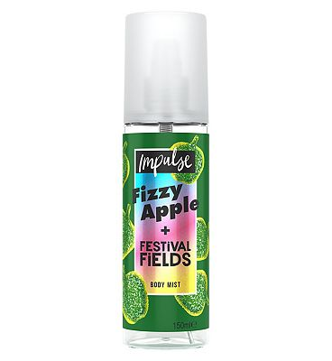 Impulse Body Mist Fizzy Apple + Festival Fields 150ml