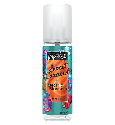 Impulse Body Mist Sweet Caramel + Electric Blossom 150ml