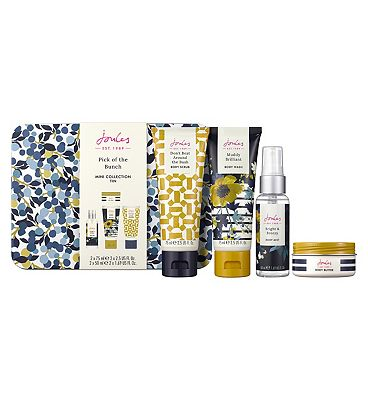joules pick of the bunch mini collection tin
