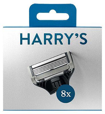 Harry's Razor Blade Refills - 8 pack