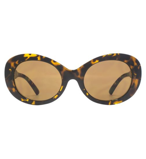 298e8cf4ad French Connection Womens Sunglass Retro oval frame