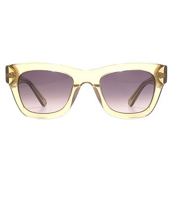 Whistles Sunglass Chunky modern square acetate frame