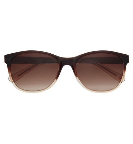 307a41bbb76 Joules Sunglasses Women Preppy Brown frame