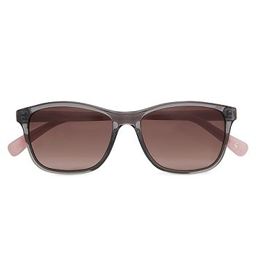 Joules Sunglasses Women Preppy Grey/Pink frame