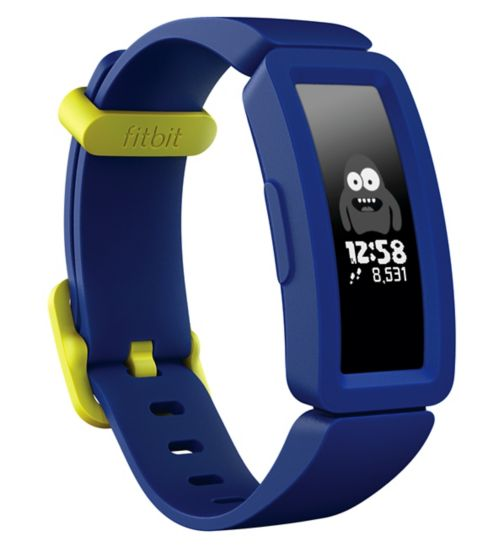 Fitbit Ace 2 Kids Activity Tracker - Night Sky/ Neon Yellow