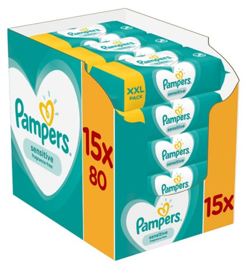 total 840 Wipes Baby Wipes Soft Light Fragranced Wipe Pack Of 15 Diapering Baby