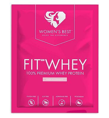 Womens Best Fit Whey Single Serving Vanilla - 30g
