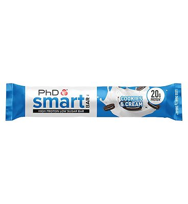 PHD Smart Bar Cookies and Cream - 64g