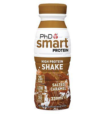 PhD Smart Protein Shake - Salted Caramel 330ml