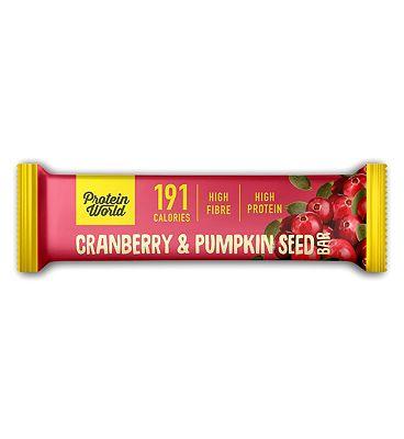 Protein World - The Slender Blend Bar - Cranberry & Pumpkin 50g