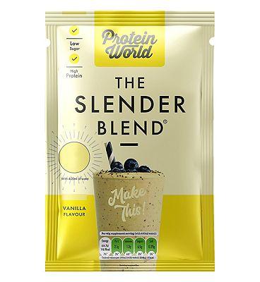 Protein World - The Slender Blend Sachet - Vanilla 40g