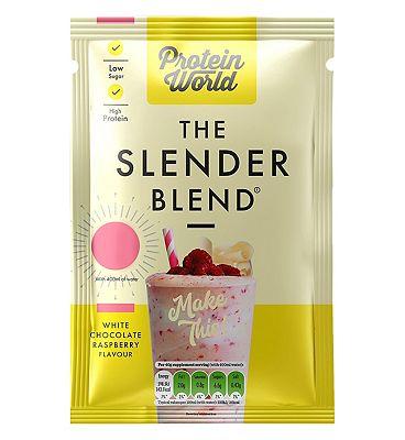 Protein World - The Slender Blend Sachet - White Chocolate & Raspberry 40g