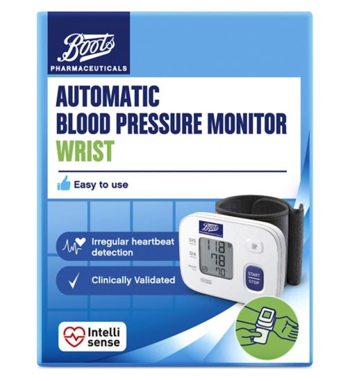 Boots Pharmaceuticals Automatic Blood Pressure Monitor - Wrist