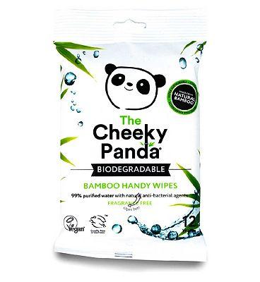 The Cheeky Panda Handy Wipes 12s