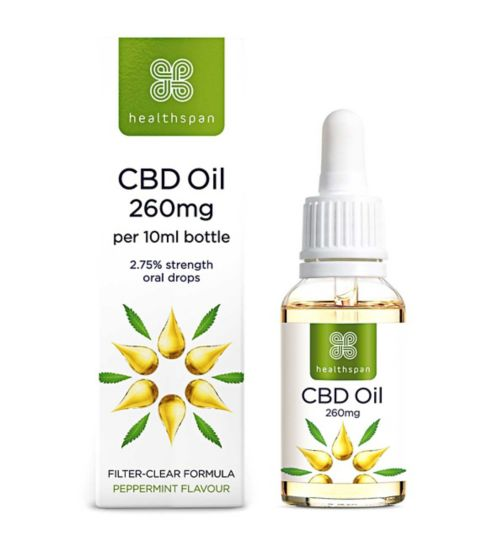 CBD Oil | Cannabidiol Oil - Boots