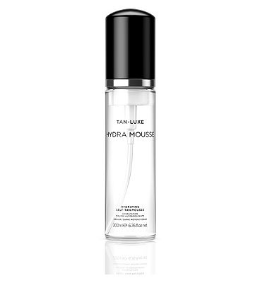 Tan-Luxe Hydra Mousse hydrating self-tan mousse , medium/dark 200ml