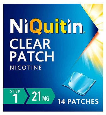 NiQuitin Clear 21mg 14 Patches - Step 1
