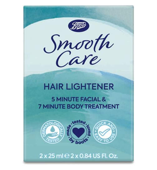 Boots Smooth Care hair lightener 2  25ml