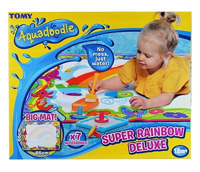 Aquadoodle Super Rainbow Deluxe Mat