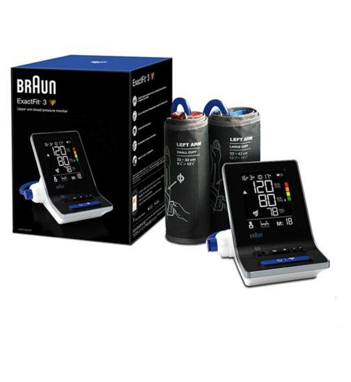 Braun ExactFit 3 BUA6150 Upper Arm Blood Pressure Monitor