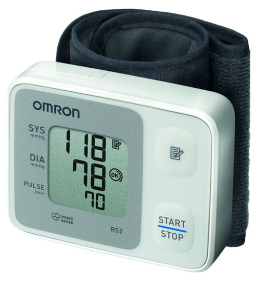 Omron RS2 Automatic Wrist Blood Pressure Monitor