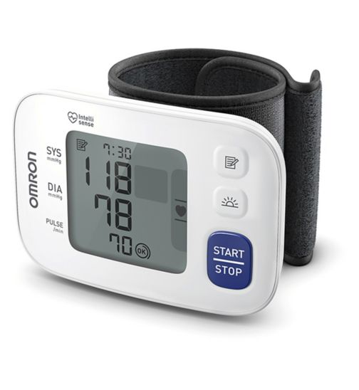 Omron RS4 Automatic Wrist Blood Pressure Monitor