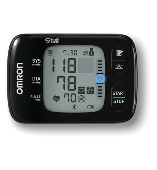 Omron RS7 Intelli IT Automatic Wrist Blood Pressure Monitor
