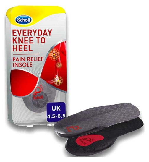 7331f009cd Scholl Everyday Knee to Heel Pain Relief Insole - Small