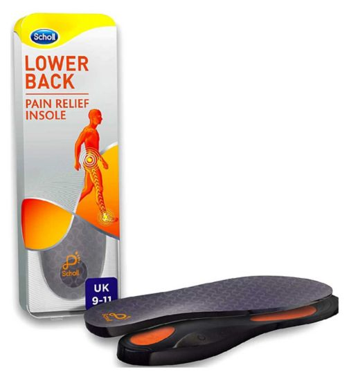 Scholl Lower Back Pain Relief Insoles - 9 - 11