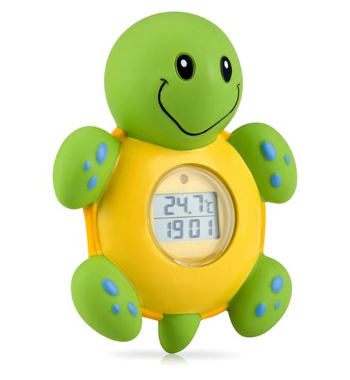 Nuby Turtle Bath & Room Thermometer