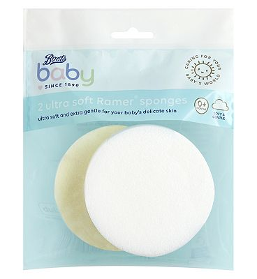 Boots Baby 2 Ultra Soft Ramer Sponges