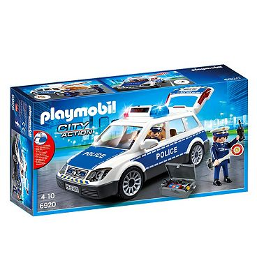 Playmobil City Action Police Squad Car with Lights and Sound 6920